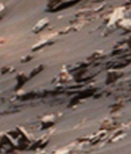 Metal scrap on Mars