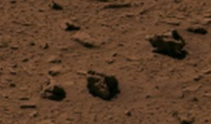 The structure of small cannons on Mars